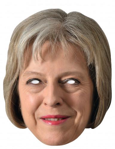 Máscara de cartão Theresa May