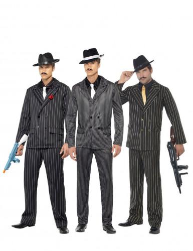 Disfarce de grupo de gangsters Homens