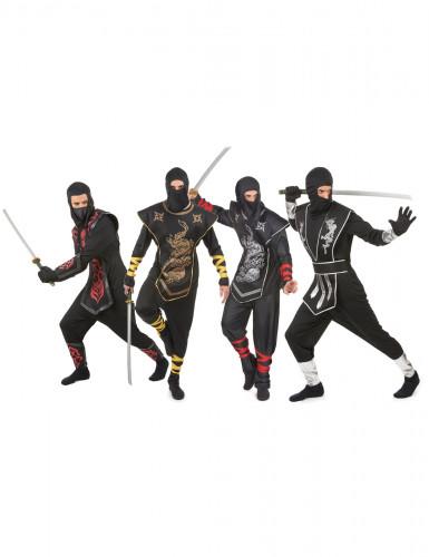 Disfarce de grupo ninja