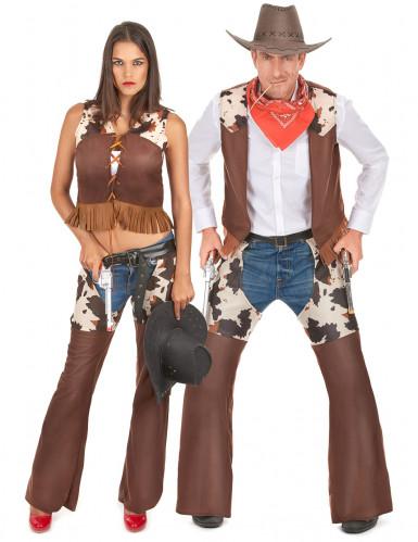 Disfarce de casal cowboy