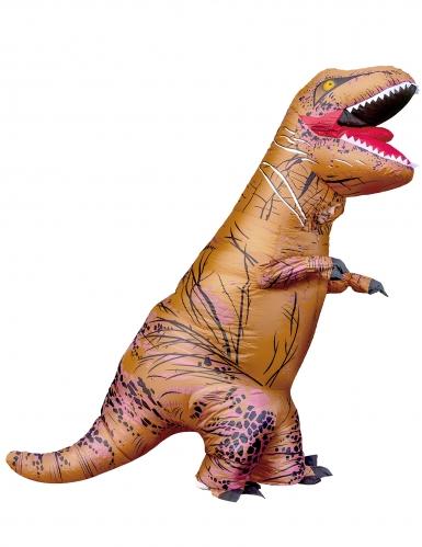 Disfarce T-rex insuflável adulto