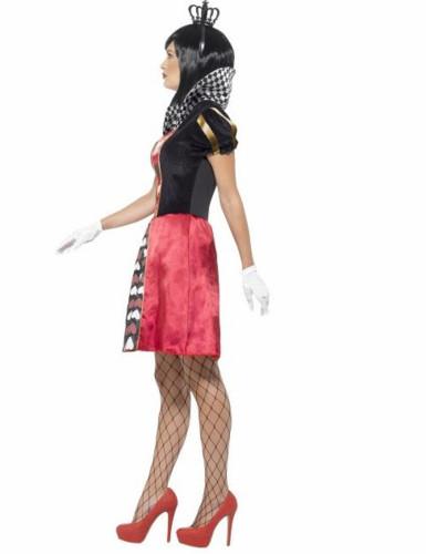 Disfarce Miss Rainha de Copas mulher-1