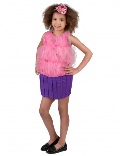 Disfarce Cupcake cor-de-rosa menina-1