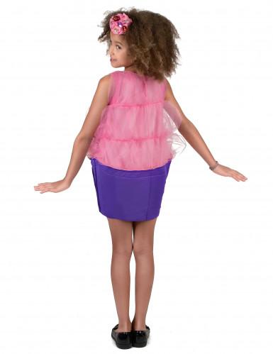 Disfarce Cupcake cor-de-rosa menina-2