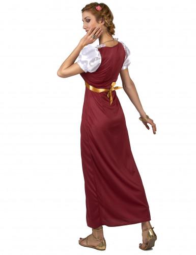 Disfarce rainha época medieval mulher-2
