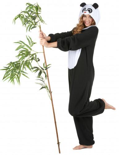 Disfarce de Panda mulher-1