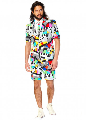 Fato de verão Mr. Technicolor homem Opposuits™