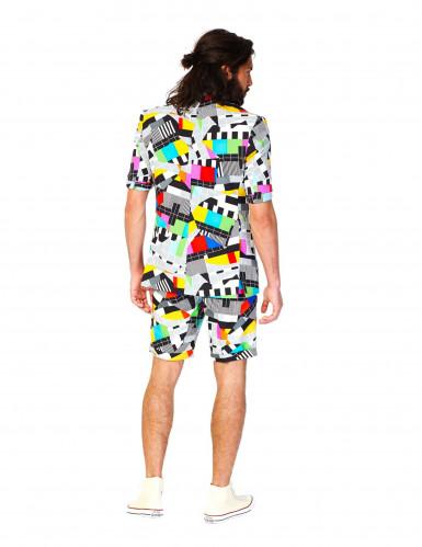 Fato de verão Mr. Technicolor homem Opposuits™-1