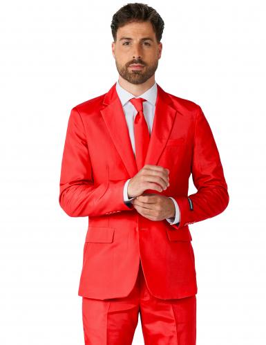 Fato Mr. Solid vermelho homem Suitmeister™-1