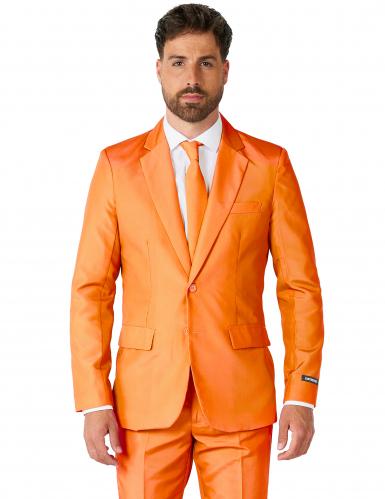 Fato Mr. Solid cor de laranja homem Suitmeister™-1