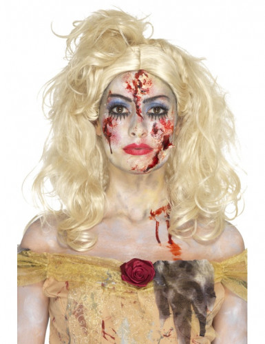 Kit de maquilhagem princesa zombie mulher Halloween
