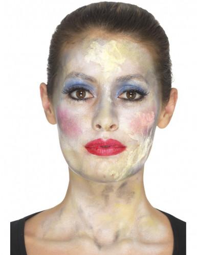 Kit de maquilhagem princesa zombie mulher Halloween-1