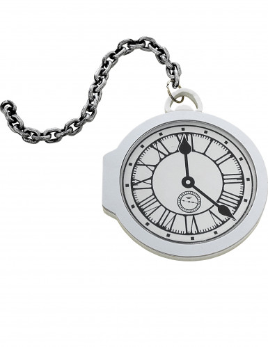 Relógio de bolso branco