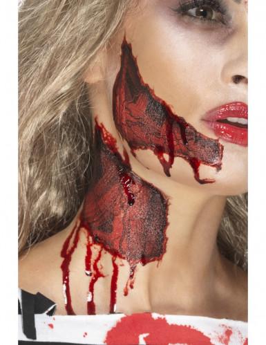 Tatuagens temporárias pele rasgada adulto Halloween-1