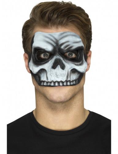 Prótese em mousse látex cara de morto adulto Halloween-1