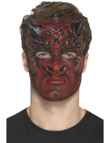 Prótese em mousse diabo adulto Halloween-1