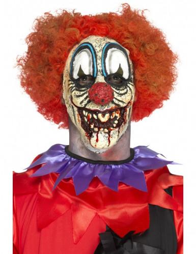 Prótese emmousse látex palhaço sinistro adulto Halloween
