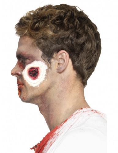 Prótese látex feridas sangrentas adulto Halloween-1