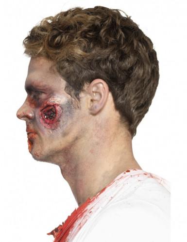 Prótese látex feridas sangrentas adulto Halloween-2
