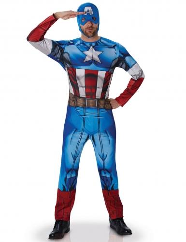 Disfarce Capitão América Avengers™ adulto