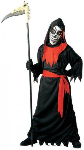 Disfarce Senhor da morte menino Halloween