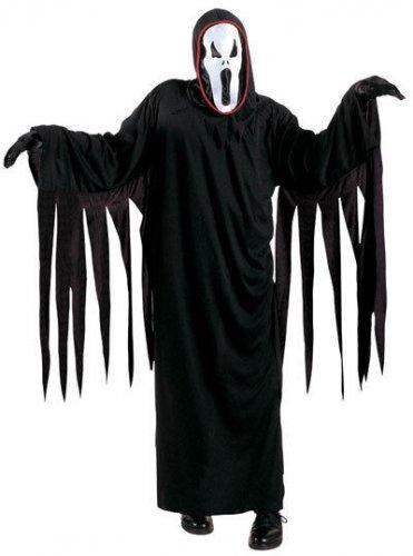 Disfarce fantasma senhor da morte criança Halloween