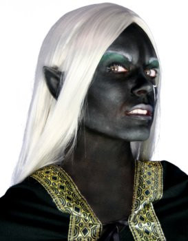 Orelhas de elfo pretas