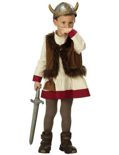 Disfarce viking para criança