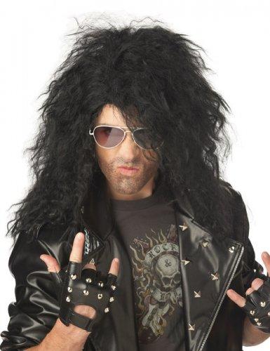 Peruca cabelos pretos compridos