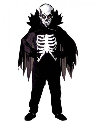 Disfarce conde esqueleto criança Halloween