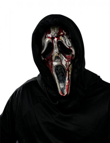 Máscara sangrenta Scream™ adulto