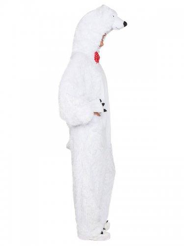 Disfarce pelúcia urso polar adulto-1