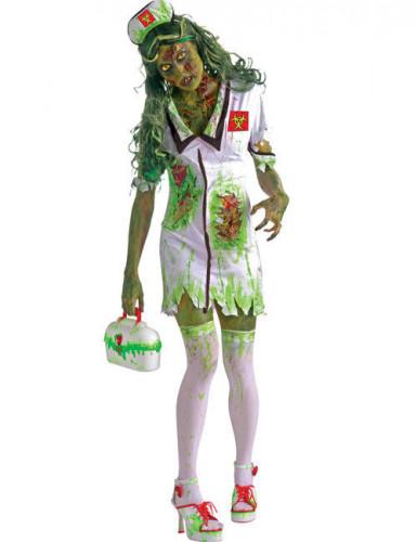 Disfarce enfermeira zombie Halloween