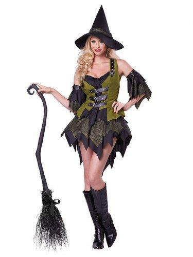 Disfarce de bruxa encantada