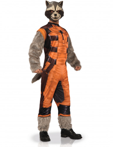 Disfarce Rocket Raccoon™ adulto - Os Guardiões da Galáxia™
