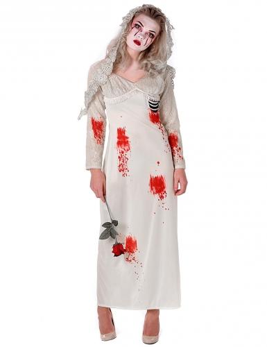 Disfarce noiva zombi - mulher