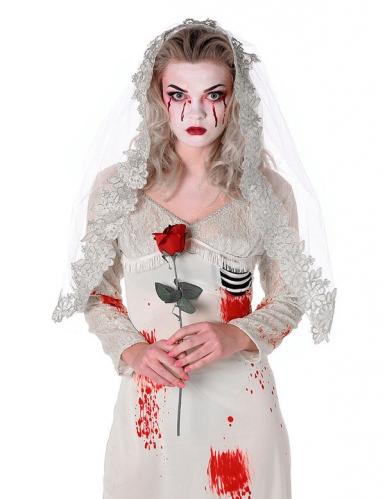 Disfarce noiva zombi - mulher-1