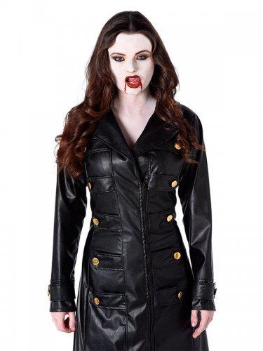 Casaco gótico vampiro mulher Halloween-1