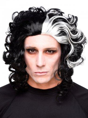Peruca Halloween barbeiro assassino
