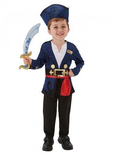 Disfarce Jake e os Piratas da terra do nunca™ De luxo criança