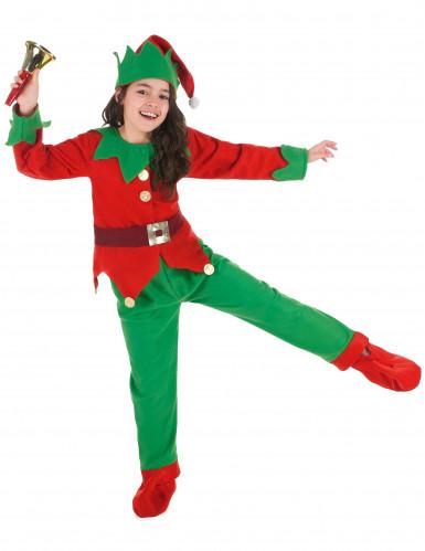 Disfarce completo Elfo de Natal criança