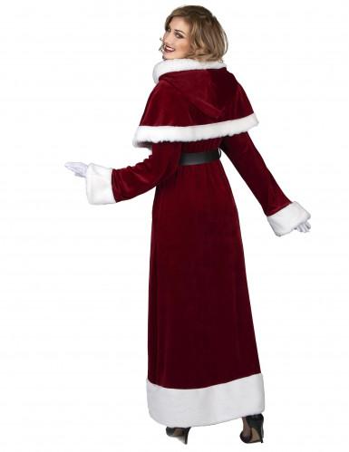 Disfarce de Mãe Natal Super Luxo adulto-2