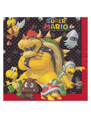 20 Guardanapos de papel Super Mario™