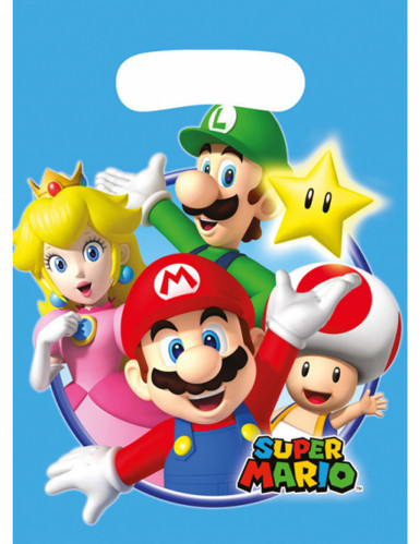8 sacos de festa Super Mario™