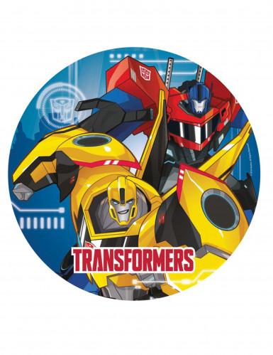8 Pratos de cartão Transformers Robots In Disguise™
