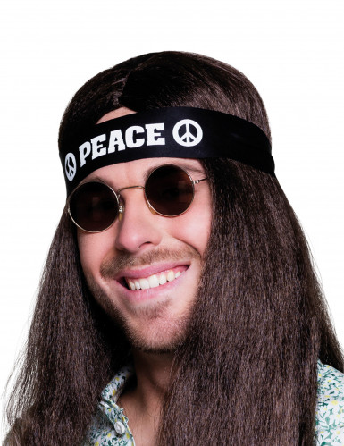 Bandolete preta Peace adulto