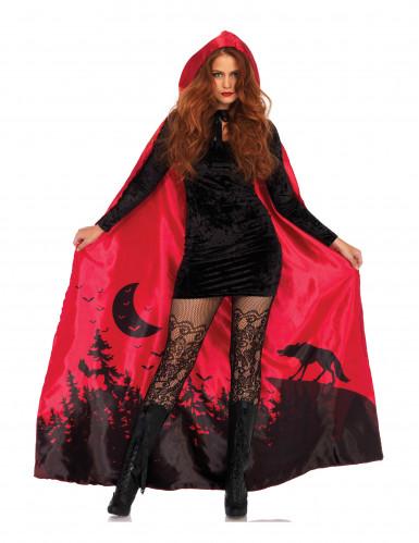 Capa luxo vermelha mulher