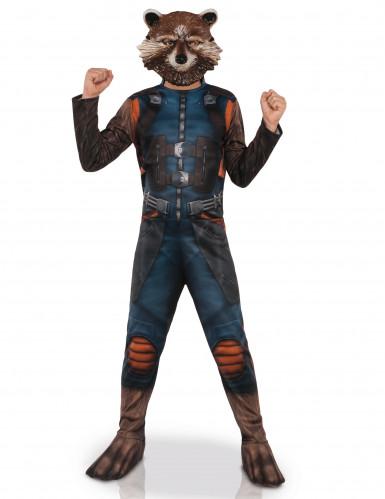 Disfarce com máscara Rocket Raccoon™ - Os Guardiões da Galáxia 2™