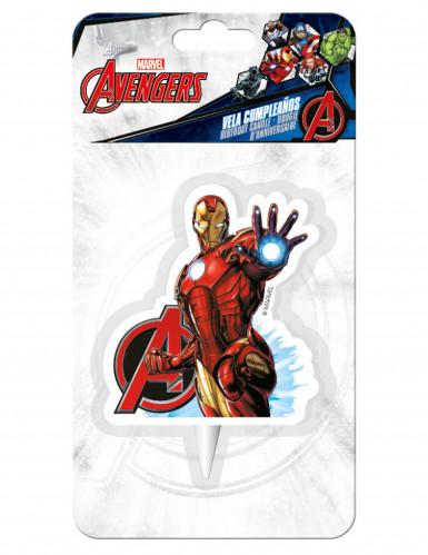 Vela de aniversário Iron Man™ Os Vingadores™-1