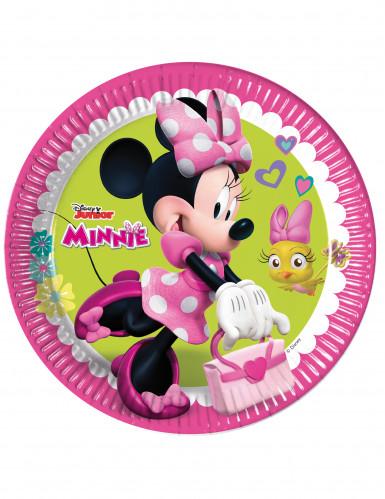 8 Pratos Minnie Happy™